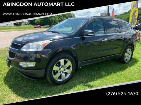 2012 Chevrolet Traverse for sale at ABINGDON AUTOMART LLC in Abingdon VA