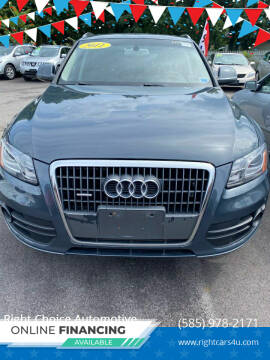 2011 Audi Q5 for sale at Right Choice Automotive in Rochester NY