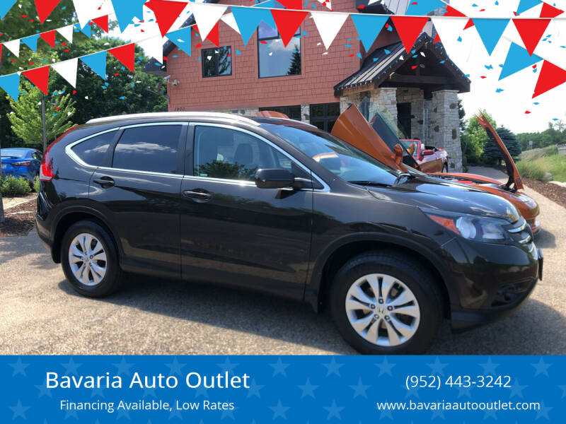 2013 Honda CR-V for sale at Bavaria Auto Outlet in Victoria MN