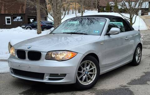 2011 BMW 1 Series for sale at JR AUTO SALES in Candia NH