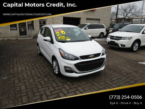 2020 Chevrolet Spark for sale at Capital Motors Credit, Inc. in Chicago IL