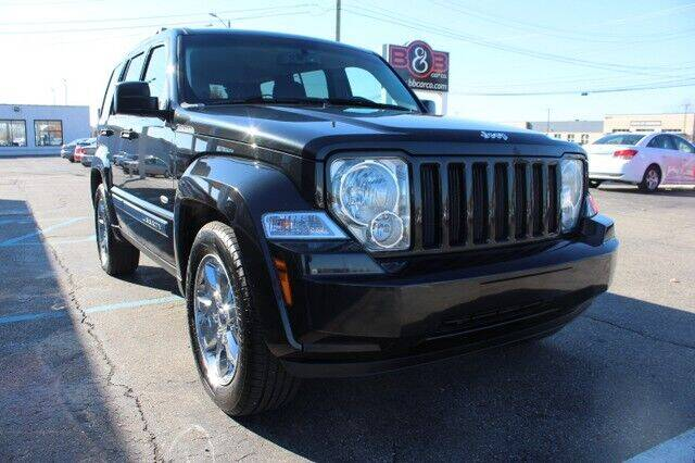 2012 Jeep Liberty for sale at B & B Car Co Inc. in Clinton Twp MI