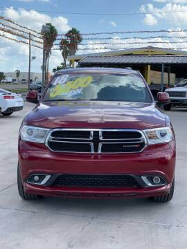 2018 Dodge Durango for sale at A & V MOTORS in Hidalgo TX