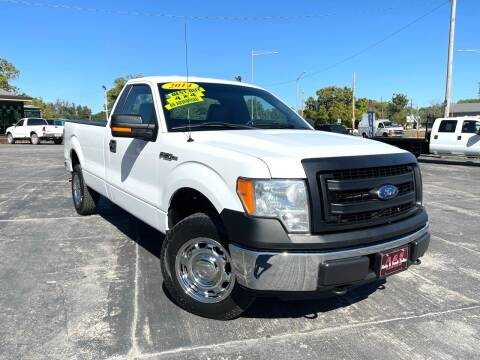 2014 Ford F-150 for sale at A & S Auto and Truck Sales in Platte City MO
