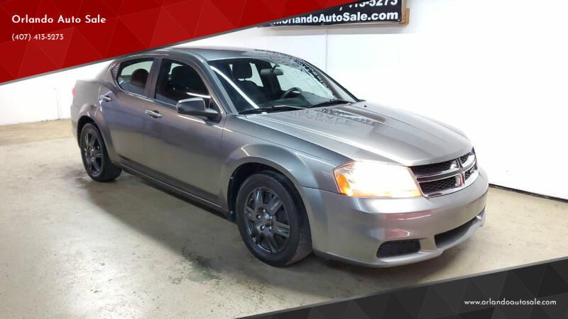 2013 Dodge Avenger for sale at Orlando Auto Sale in Orlando FL