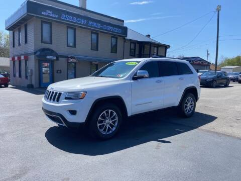 2015 Jeep Grand Cherokee for sale at Sisson Pre-Owned in Uniontown PA