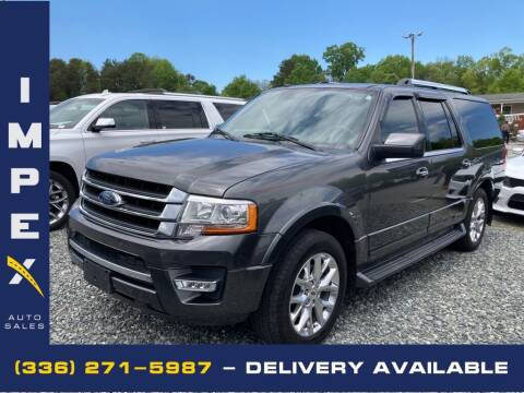 2017 Ford Expedition EL for sale at Impex Auto Sales in Greensboro NC