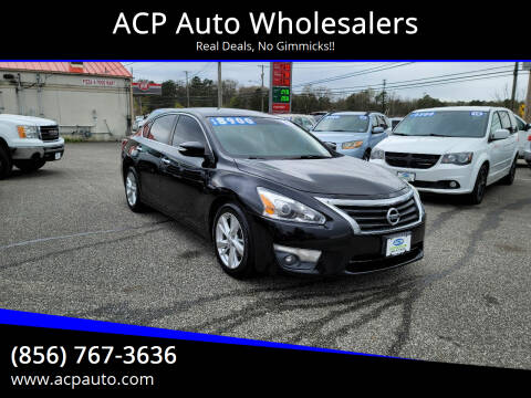 2013 Nissan Altima for sale at ACP Auto Wholesalers in Berlin NJ