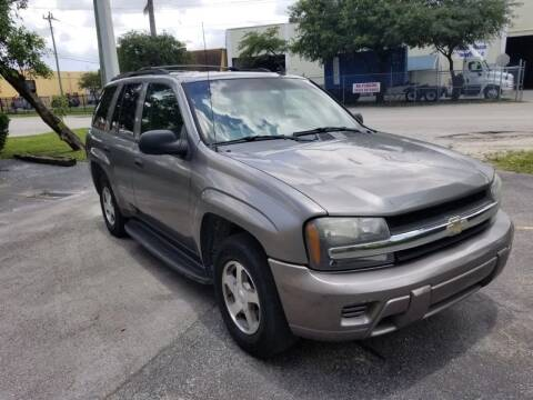 2006 Chevrolet TrailBlazer for sale at Alma Car Sales in Miami FL