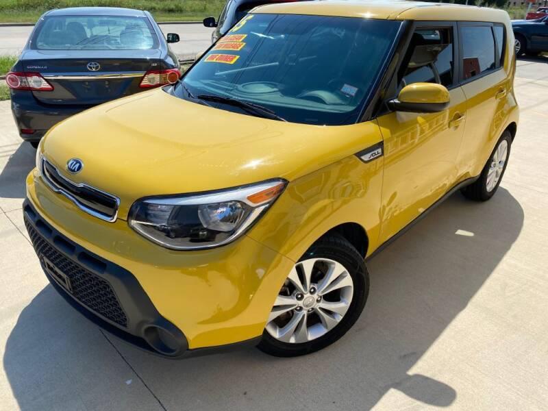 2015 Kia Soul for sale at Raj Motors Sales in Greenville TX