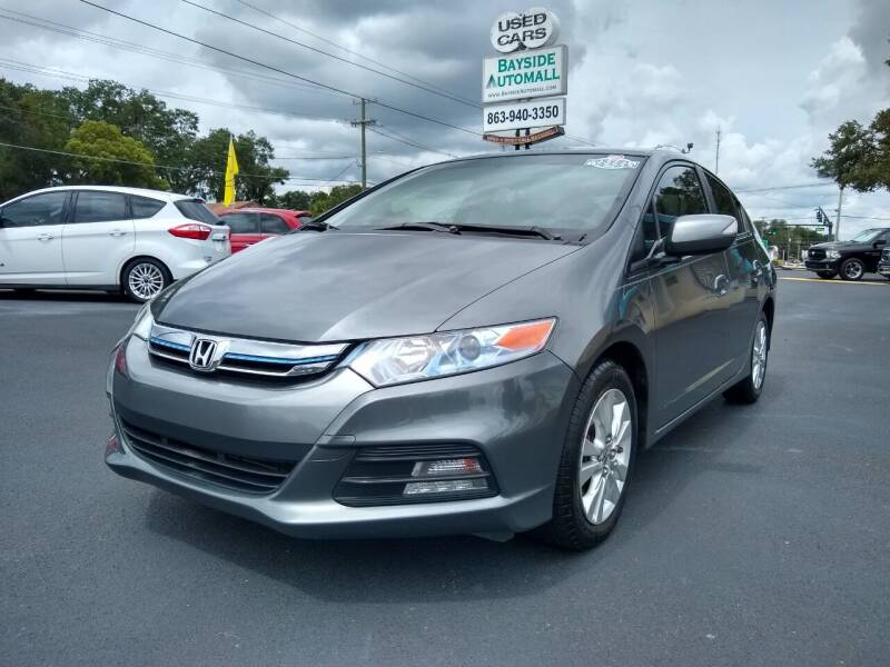 2013 Honda Insight for sale at BAYSIDE AUTOMALL in Lakeland FL