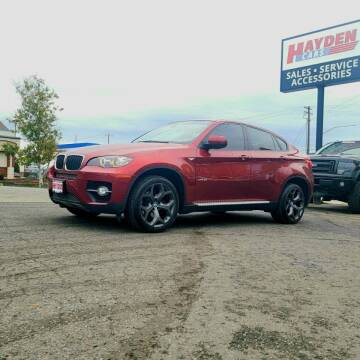 2009 BMW X6 for sale at Hayden Cars in Coeur D Alene ID