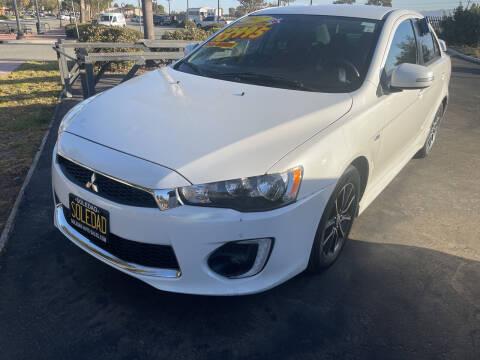 2017 Mitsubishi Lancer for sale at Soledad Auto Sales in Soledad CA