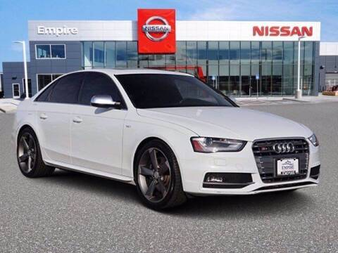 2015 Audi S4 for sale at EMPIRE LAKEWOOD NISSAN in Lakewood CO