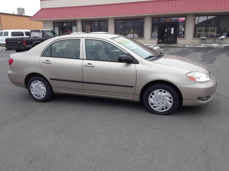 2005 Toyota Corolla CE 4dr Sedan - Carson City NV