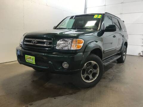 2002 Toyota Sequoia for sale at Frogs Auto Sales in Clinton IA