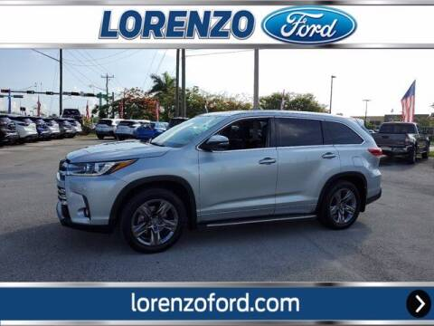 2018 Toyota Highlander for sale at Lorenzo Ford in Homestead FL