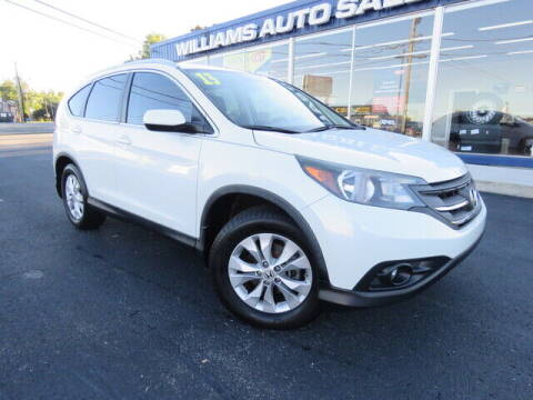 2013 Honda CR-V for sale at Williams Auto Sales, LLC in Cookeville TN