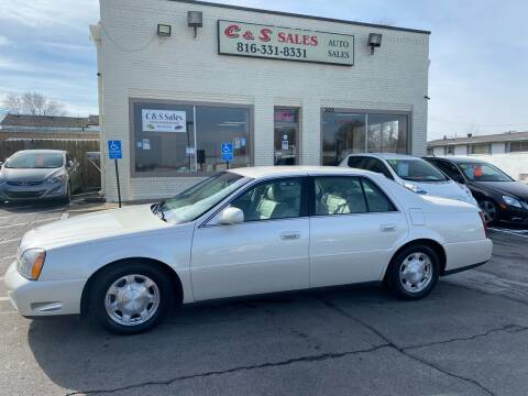 2001 Cadillac DeVille for sale at C & S SALES in Belton MO