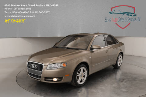 2007 Audi A4 for sale at Elvis Auto Sales LLC in Grand Rapids MI