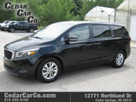 2016 Kia Sedona for sale at Cedar Car Co in Cedar Springs MI