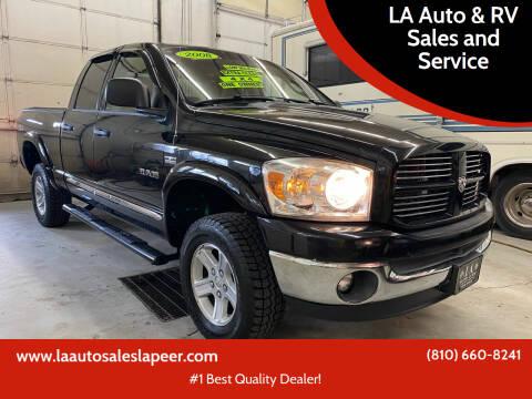 2008 Dodge Ram Pickup 1500 for sale at LA Auto & RV Sales and Service in Lapeer MI