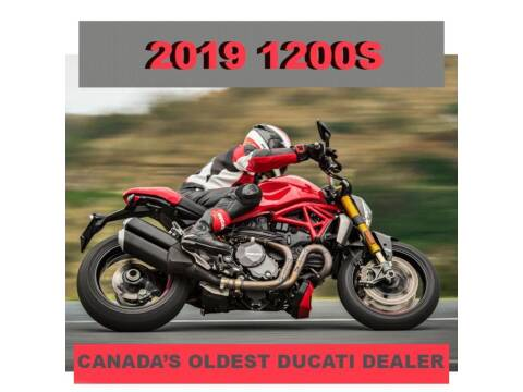 2019 Ducati Monster 1200 S for sale at Peninsula Motor Vehicle Group in Oakville Ontario NY