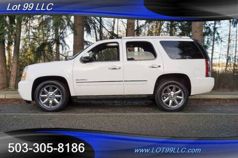 2010 GMC Yukon for sale at LOT 99 LLC in Milwaukie OR