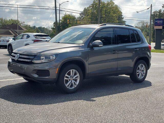 2017 Volkswagen Tiguan for sale at Gentry & Ware Motor Co. in Opelika AL