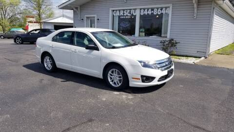 2012 Ford Fusion for sale at Cars 4 U in Liberty Township OH