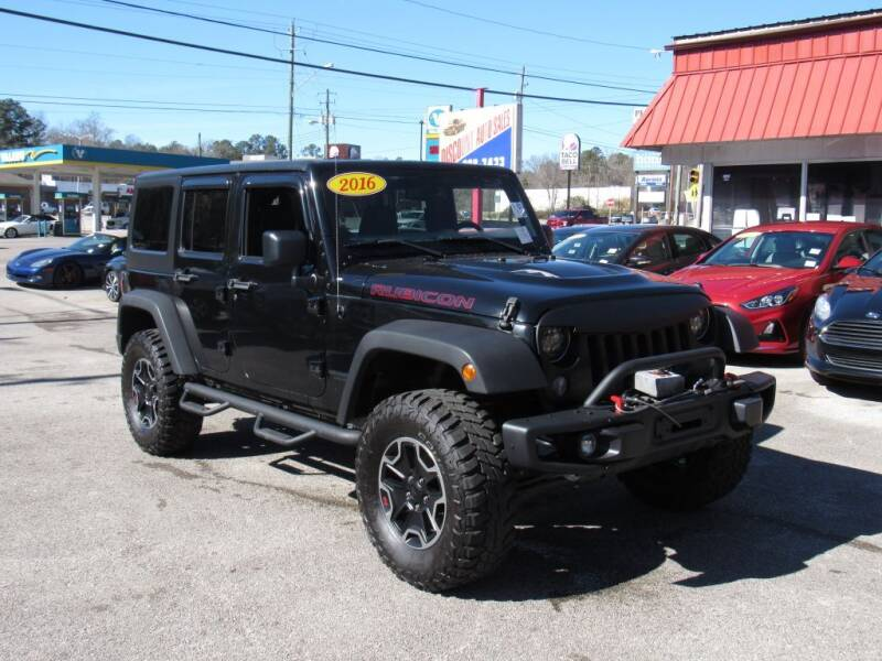 2016 Jeep Wrangler Unlimited for sale at Discount Auto Sales in Pell City AL