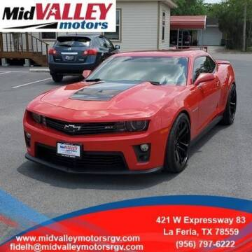 2012 Chevrolet Camaro for sale at Mid Valley Motors in La Feria TX