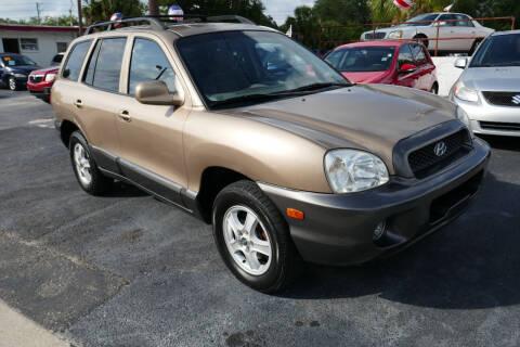 2004 Hyundai Santa Fe for sale at J Linn Motors in Clearwater FL