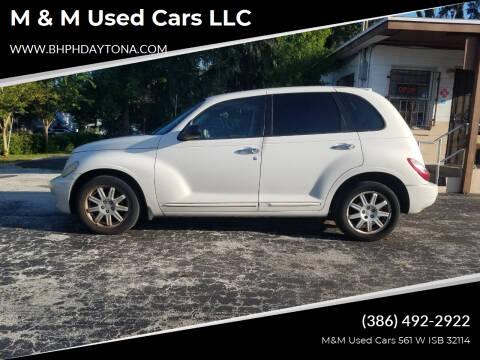2008 Chrysler PT Cruiser for sale at M & M Used Cars LLC in Daytona Beach FL