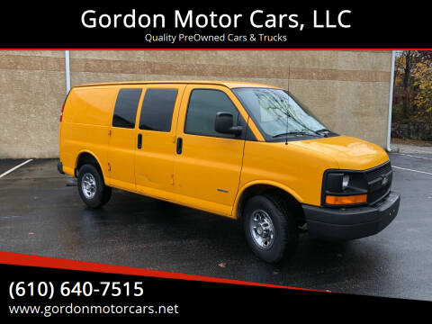 2008 Chevrolet Express Cargo for sale at Gordon Motor Cars, LLC in Frazer PA