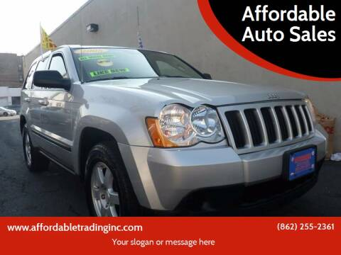 2008 Jeep Grand Cherokee for sale at Affordable Auto Sales in Irvington NJ