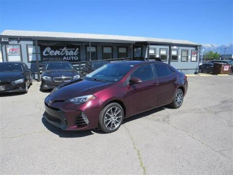 2017 Toyota Corolla for sale at Central Auto in South Salt Lake UT