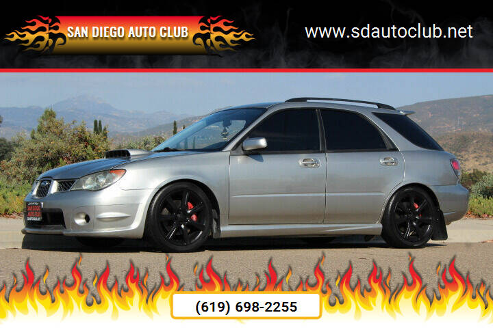 2006 Subaru Impreza for sale at San Diego Auto Club in Spring Valley CA