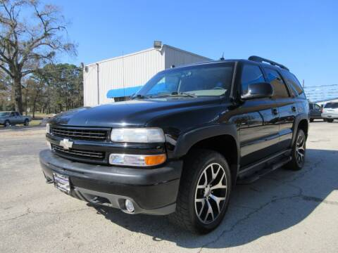 2005 Chevrolet Tahoe for sale at Quality Investments in Tyler TX