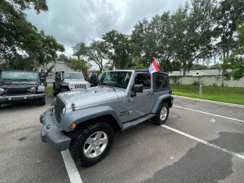 2013 Jeep Wrangler for sale at Bay City Autosales in Tampa FL