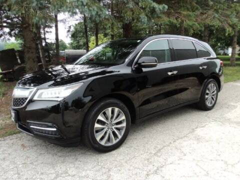 2016 Acura MDX for sale at HUSHER CAR COMPANY in Caledonia WI