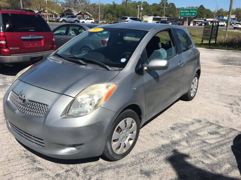 2007 Toyota Yaris for sale at Jack's Auto Sales in Port Richey FL