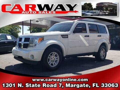2009 Dodge Nitro for sale at CARWAY Auto Sales in Margate FL
