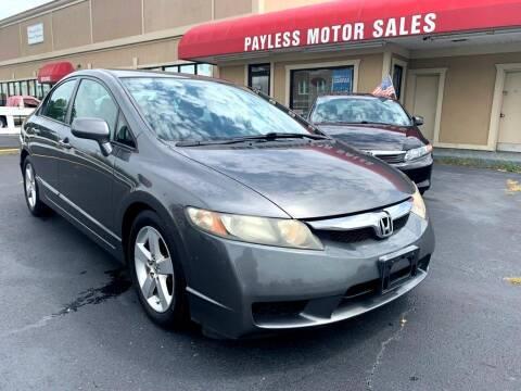 2009 Honda Civic for sale at Payless Motor Sales LLC in Burlington NC
