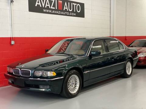 2001 BMW 7 Series for sale at AVAZI AUTO GROUP LLC in Gaithersburg MD