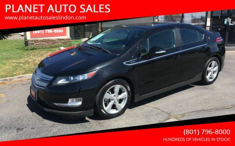 2013 Chevrolet Volt for sale at PLANET AUTO SALES in Lindon UT