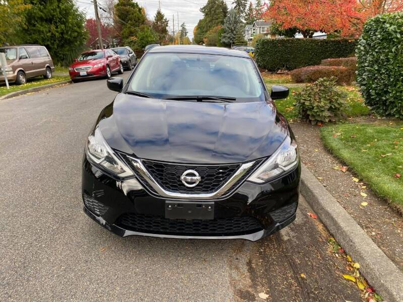 2016 Nissan Sentra for sale at SNS AUTO SALES in Seattle WA