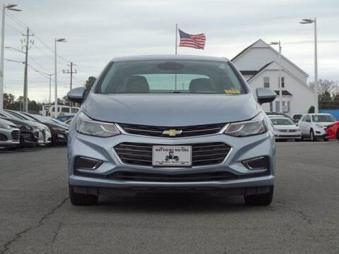 2017 Chevrolet Cruze for sale at Auto Finance of Raleigh in Raleigh NC