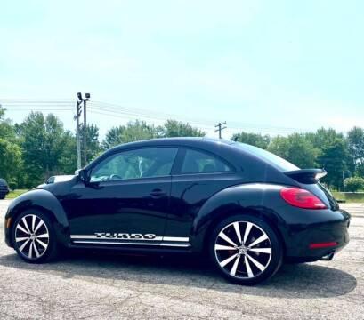 2012 Volkswagen Beetle for sale at JEREMYS AUTOMOTIVE in Casco MI