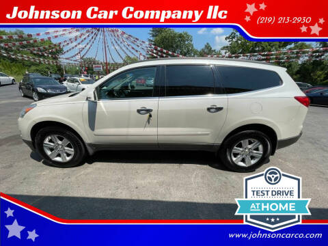 2012 Chevrolet Traverse for sale at Johnson Car Company llc in Crown Point IN
